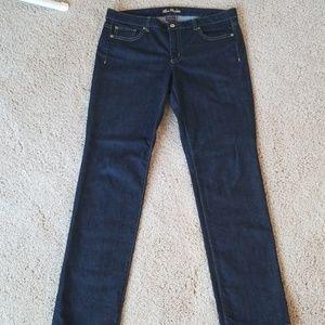 Ann Taylor Lindsay Waist dark wash Jeans 10